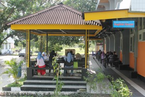Taman digital Perpustakaan Universitas Riau